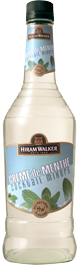 Hiram Walker Liqueur Creme de Menthe White 750ml - Case of...